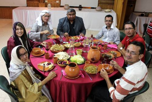 Jantar bíblico típico