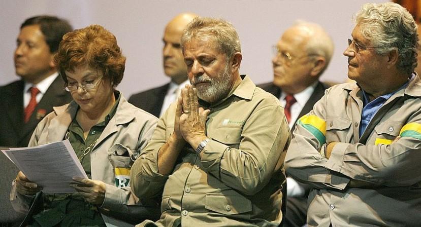 Dilma Lula Roberto Requião