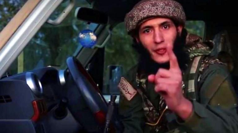 ISIS terrorist threatening Europe